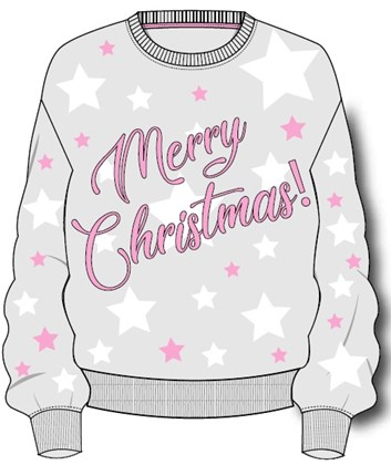 Merry Christmas Ladies Xmas Jumper