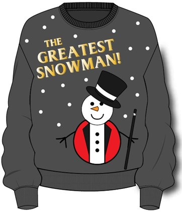 The Greatest Snowman Xmas Men's Jumper