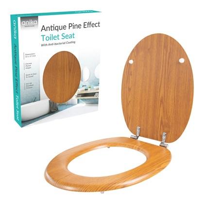 Antique Effect Toilet Seat