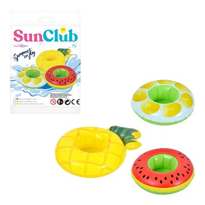 Sun Club Inflatable Fruit Design Cup Holders