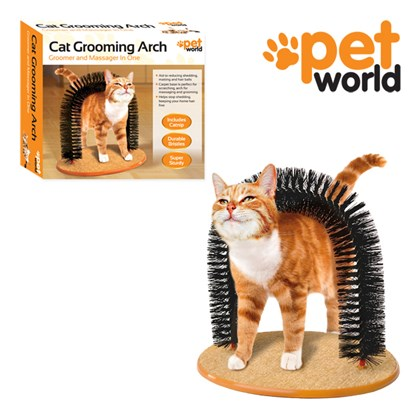 Cat Self Grooming Arch