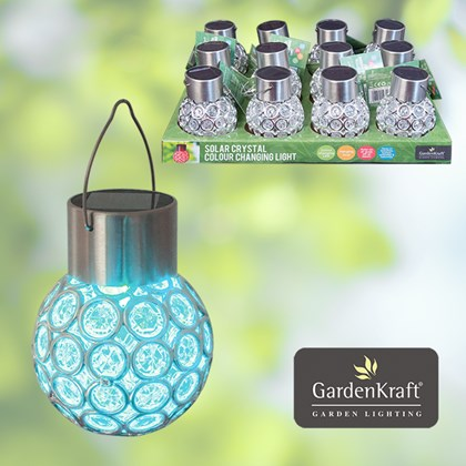 Crystal Colour Changing Solar Light