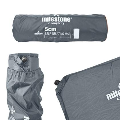 Self Inflatable Mat - 5CM - Charcoal