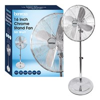 "16"" Chrome Stand Fan"