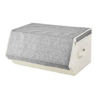 Large Magnetic Storage Box - Grey