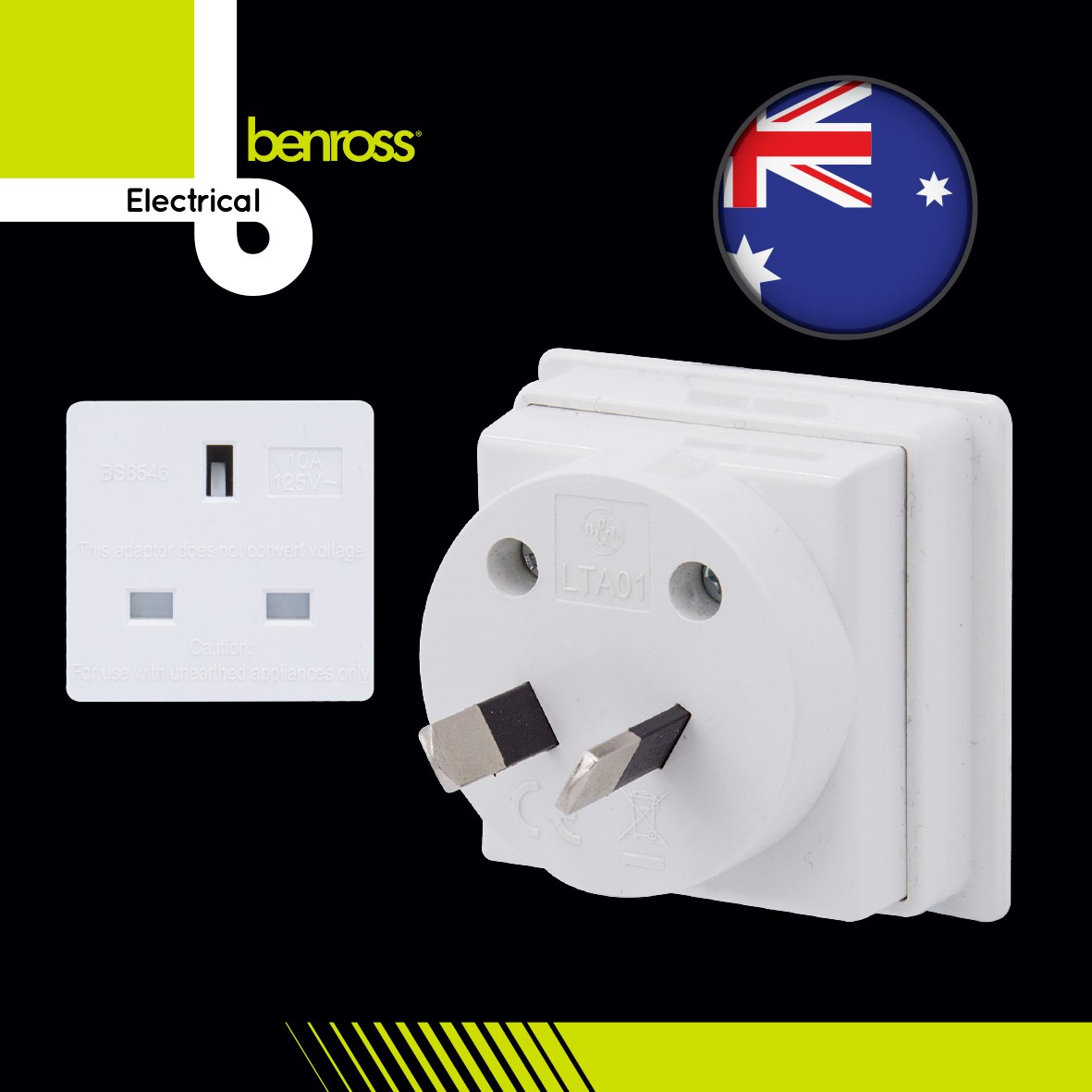 Australian Travel Adaptor Power Cords Electrical Plug And Plugs