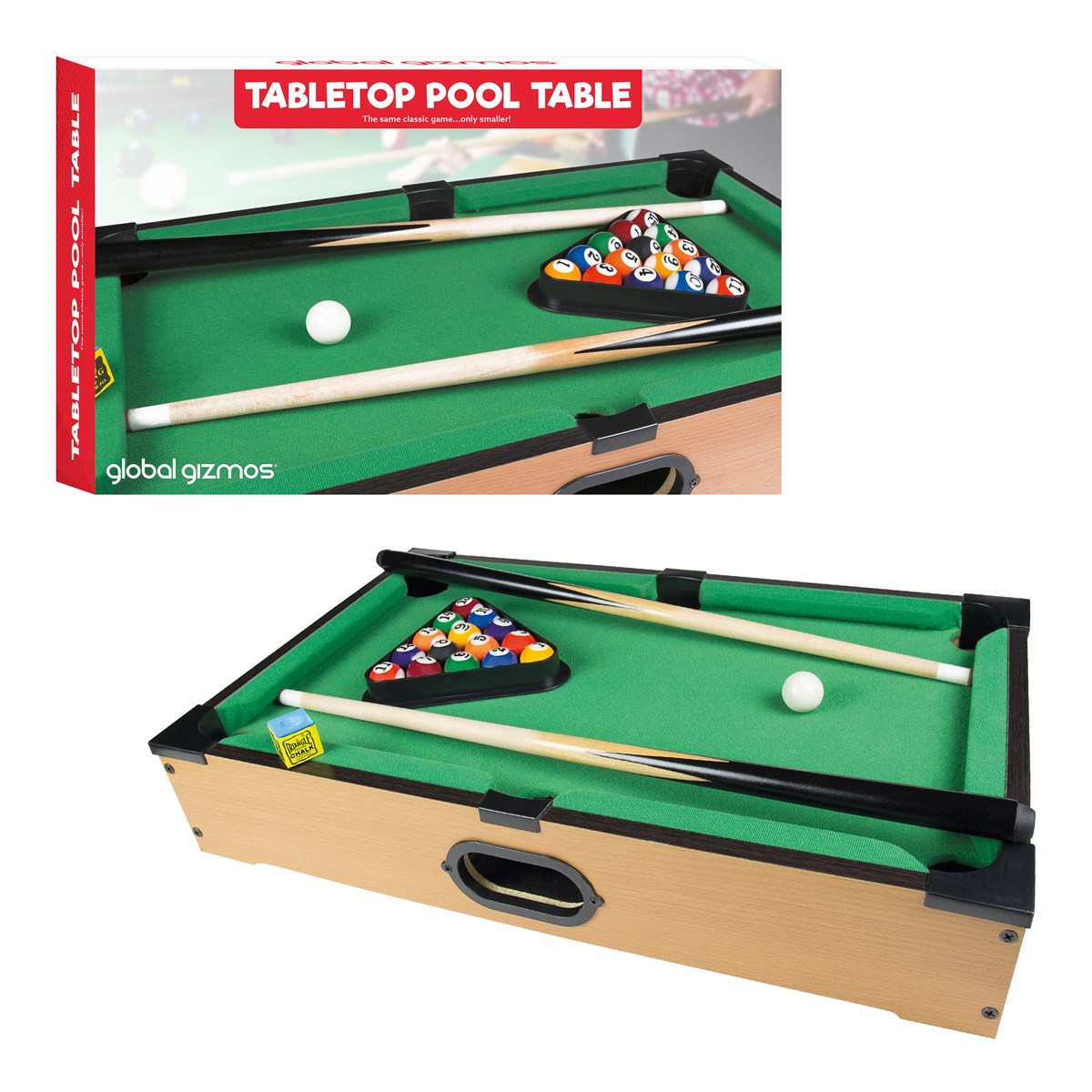 Table Top Pool Table - Pool table top only