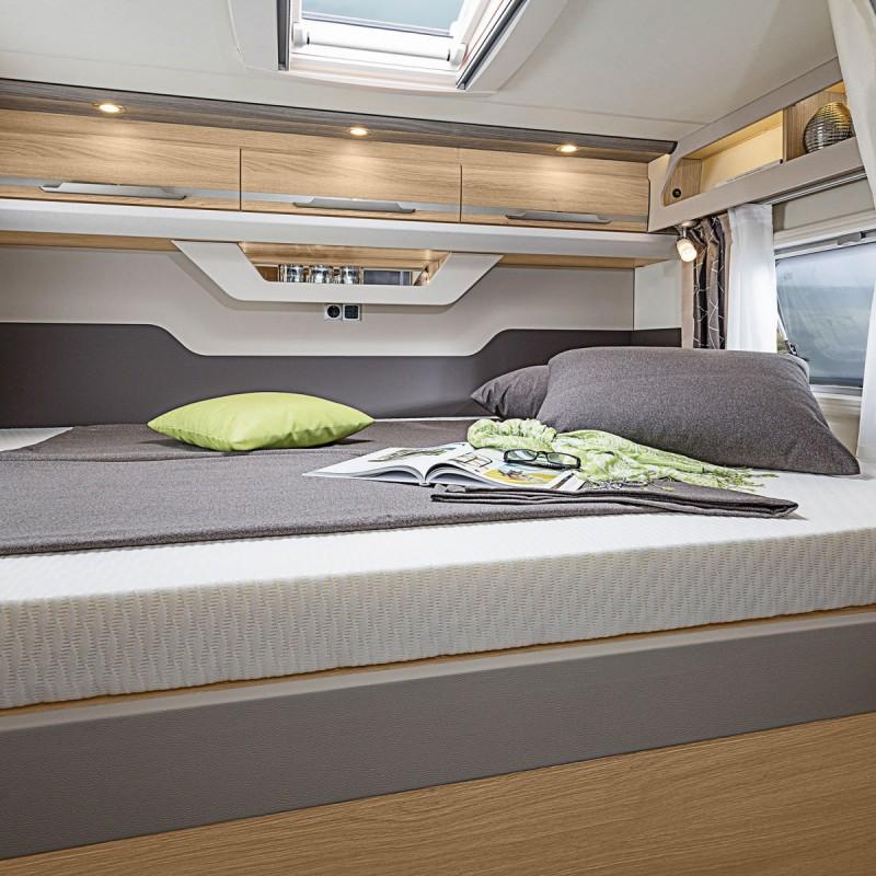 Tvärställd säng