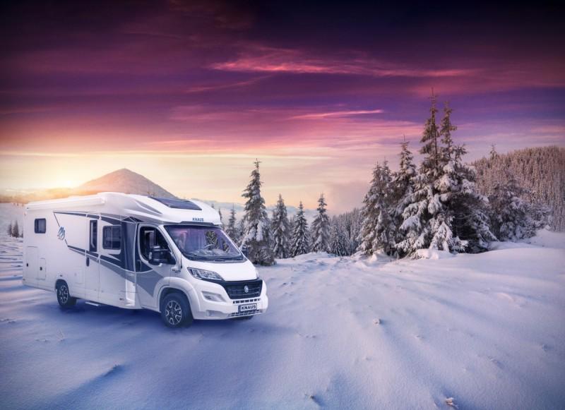 Exteriör i vintrig miljö