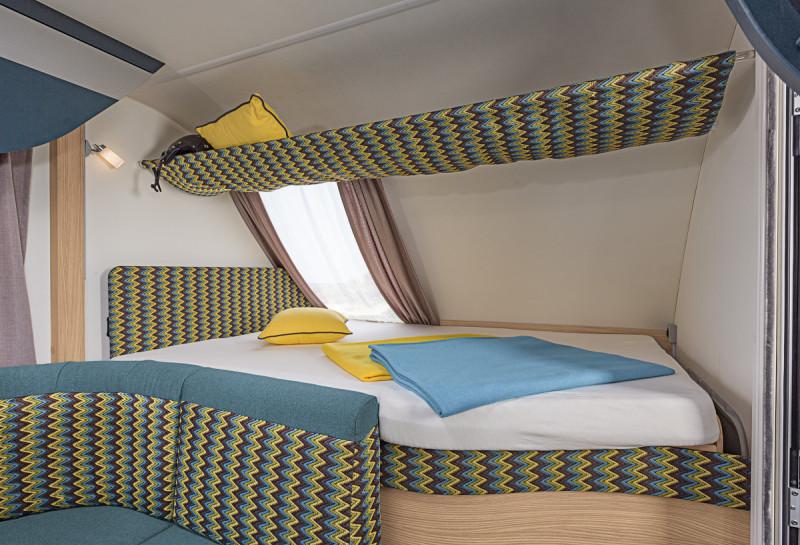 Interiör, sovrum, tvärbädd