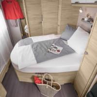 Interiör, sovrum, queenbädd, dubbelsäng