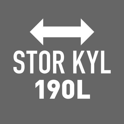 Stor kyl 190 l