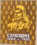 """KÉPI BLANC - """" Camerone 1863 - 1953 """" - Magazine sur la colonie de Camerone  (1)"""