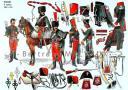 RIGO (ALBERT RIGONDAUD) : LE PLUMET PLANCHE U24 : HUSSARDS 8e REGIMENT 1803-1814. (1)