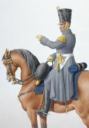 1816. Légions Départentales. Chef de Bataillon. (2)