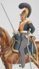 Photo 2 : 1816. Dragons. Capitaine (6e Régiment - de la Loire).