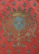 GUIDON DU RÉGIMENT CONDÉ-DRAGONS, 1776-1791, ANCIENNE MONARCHIE, RÈGNE DE LOUIS XVI. (3)