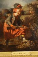 Photo 4 : GUILBERT D'ANELLE HUILE : SCÈNE DE BATAILLE TRÈS CERTAINEMENT DE SÉBASTOBOL, Second Empire.