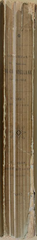 """CASTELLANE - """" Journal du Maréchal de Castellane 1804-1862 """" - 1 Tome - Paris - 1897 (5)"""