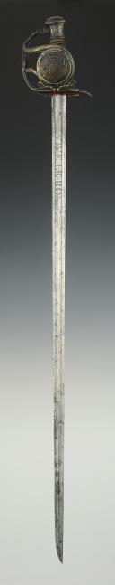Photo 6 : SABRE DE RÉCOMPENSE, DIT « DES PAROISSES », modèle 1816, Restauration.