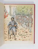 Photo 8 : CROIX DE GUERRE (la). Par un groupe d'anciens combattants décorés de la croix de guerre.