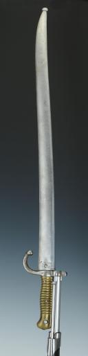 Photo 9 : FUSIL DE MARINE CHASSEPOT, MODÈLE 1866, SECOND EMPIRE.
