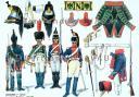 RIGO (ALBERT RIGONDAUD) : LE PLUMET PLANCHE U23 : CUIRASSIERS 1er REGIMENT 4e ESCADRON A HAMBOURG - 1813-1814.