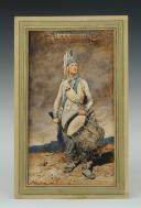 Photo 1 : GEORGES SCOTT (1873-1943), TAMBOUR D'INFANTERIE DE LIGNE RÉVOLUTION : Aquarelle originale.