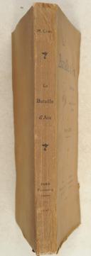 CLERC. La bataille d'Aix. Études critiques sur le campagne de Caius Marius en Provence.  (2)