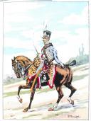 BUCQUOY Commandant : LES UNIFORMES DU PREMIER EMPIRE : LA CAVALERIE LÉGÈRE TOME 5 (2)