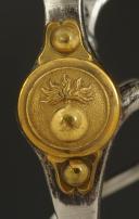 MORS DE BRIDE DES CUIRASSIERS OU DRAGONS DE LA GARDE IMPÉRIALE, MODÈLE 1855, SECOND EMPIRE. (2)