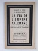 """LAVAUR (J.H.) – Comment se réalise en ce moment-même """" La fin de l'Empire allemand """""""