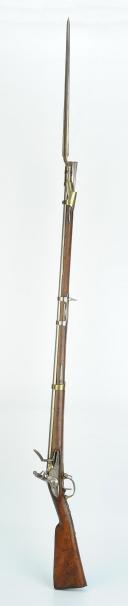 Photo 2 : FUSIL DE DRAGON MODÈLE AN IX, MANUFACTURE DE SAINT-ÉTIENNE 1810, PREMIER EMPIRE.