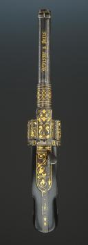Photo 4 : REVOLVER DE LUXE PAR DEVISME, MODELE 1869 AUX ARMES DE VICTOR-EMMANUEL II, ROI D'ITALIE, EN COFFRET, SECOND EMPIRE.