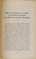 """GL INGOLD – """" L'Armée coloniale """" - Brochure  (5)"""