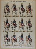 """PELLERIN - """" Garde Républicaine """" - Imagerie d'Épinal - planche n°92 (1)"""