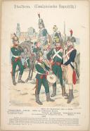 """Photo 1 : R. KNÔTEL -  """" Italien - (Casalpinische Republik.) 1797 """" - Gravure - n° 11"""