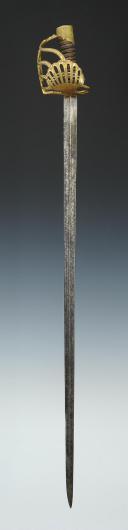 Photo 1 : SABRE D'OFFICIER DE DRAGONS, ANCIENNE MONARCHIE.