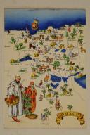 Photo 1 : Carte postale mise en couleurs représentant la région du «CONSTANTINE».