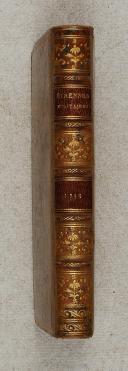 Photo 2 : ABREGE du dictionnaire militaire pour servir d'étrennes à messieurs les officiers.