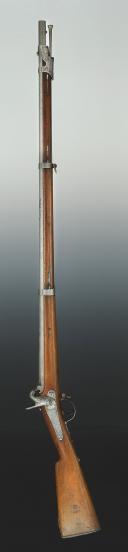 Photo 2 : FUSIL D'INFANTERIE, modèle 1842T, Second Empire.