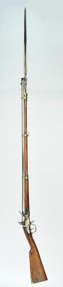 Photo 3 : FUSIL D'ARTILLERIE MODÈLE 1816, MANUFACTURE DE MUTZIG, RESTAURATION.