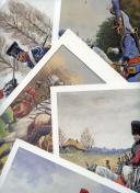 Photo 1 : ROUSSELOT LUCIEN : ARMÉE NAPOLÉONIENNE, 11 PLANCHES.