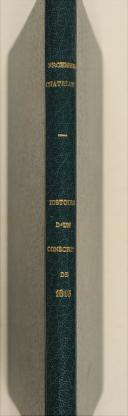 Photo 1 : ERCKMANN-CHATRIAN. Histoire d'un conscrit de 1813.