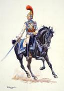 Officier de Carabinier, 1812, Pemier Empire. (1)