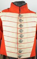 UNIFORME DE FUSILIER DU 8ème RÉGIMENT SUISSE D'INFANTERIE DE LA GARDE ROYALE RESTAURATION (1824-1830). (1)