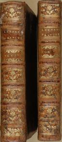 """Photo 2 : J.P COSTARD - """" L'honneur François """" - 2 volume - Paris - M.de SACY"""