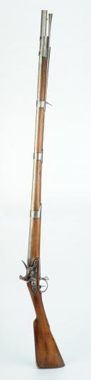 Photo 3 : FUSIL D'OFFICIER AUTRICHIEN, VERS 1750-1760, 18ème SIÈCLE.