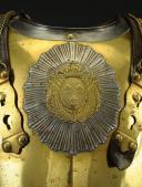 CUIRASSE DE CARABINIER, MODÈLE 1833 AVEC GLOIRE MODÈLE 1825, MONARCHIE DE JUILLET. (3)