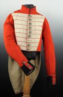 UNIFORME DE FUSILIER DU 8ème RÉGIMENT SUISSE D'INFANTERIE DE LA GARDE ROYALE RESTAURATION (1824-1830). (4)